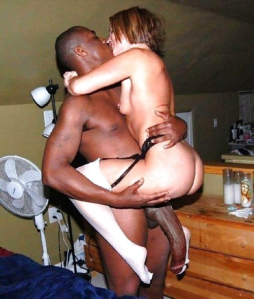 Black man bang white girl