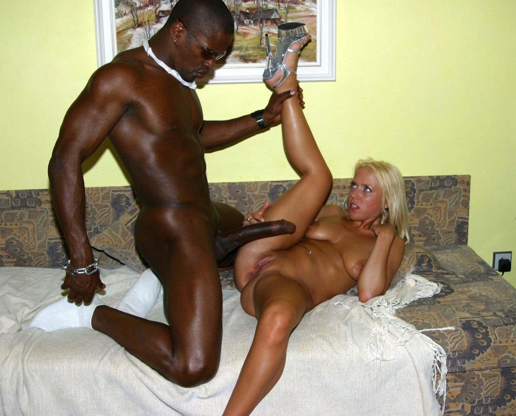 White man fucking interracial harem